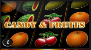 Candy and Fruits Online Spielen