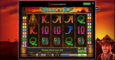 Book of Ra im Energy Casino