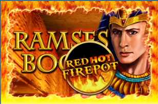 Ramses Book mit Red Hot Firepot bei Sunmaker
